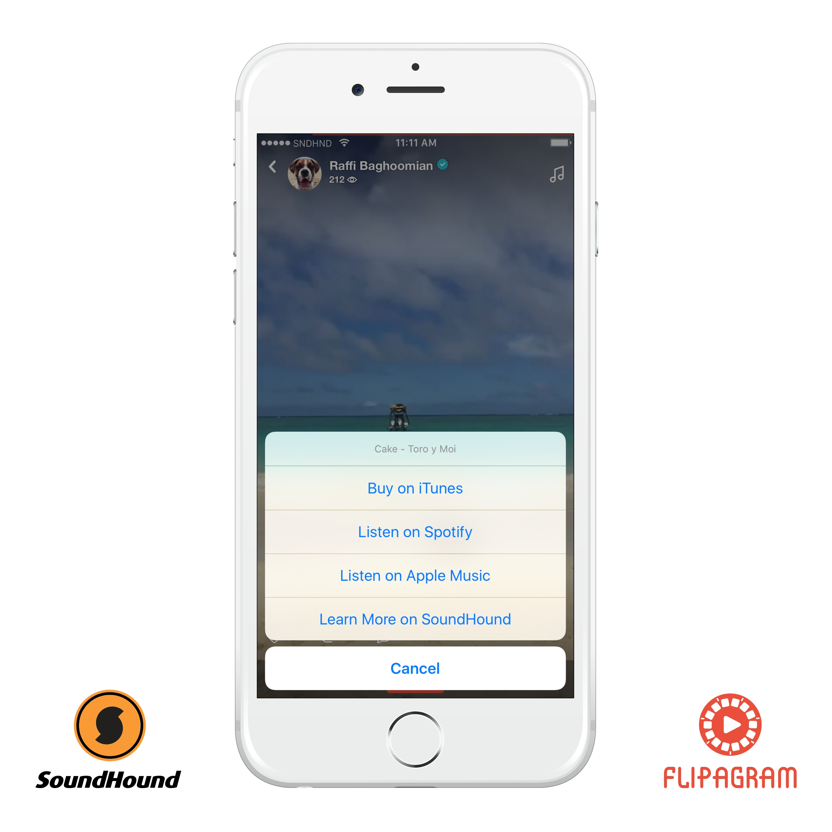 Flipagram Partners with SoundHound to Add Any Song You Hear