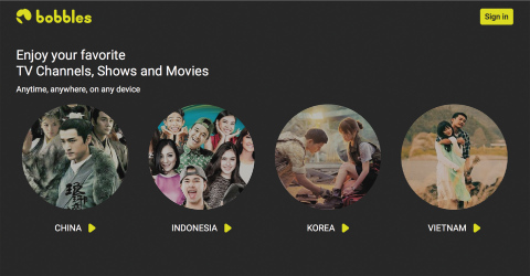 New Pan-European Pay TV Platform bobbles.tv offers Television for International Communities (Graphic ...