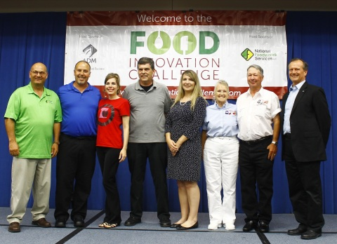Co-sponsors Archer Daniels Midland Company (ADM) and National Foodworks Services (NFS) celebrate wit ...