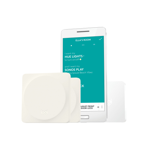 POP to control your smart home with the new Logitech Pop Home Switch. (Photo: Business Wire)