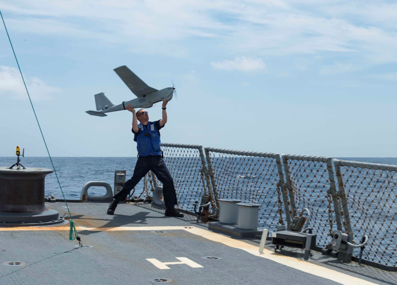 united states navy deploying newly designated rq 20b aerovironment