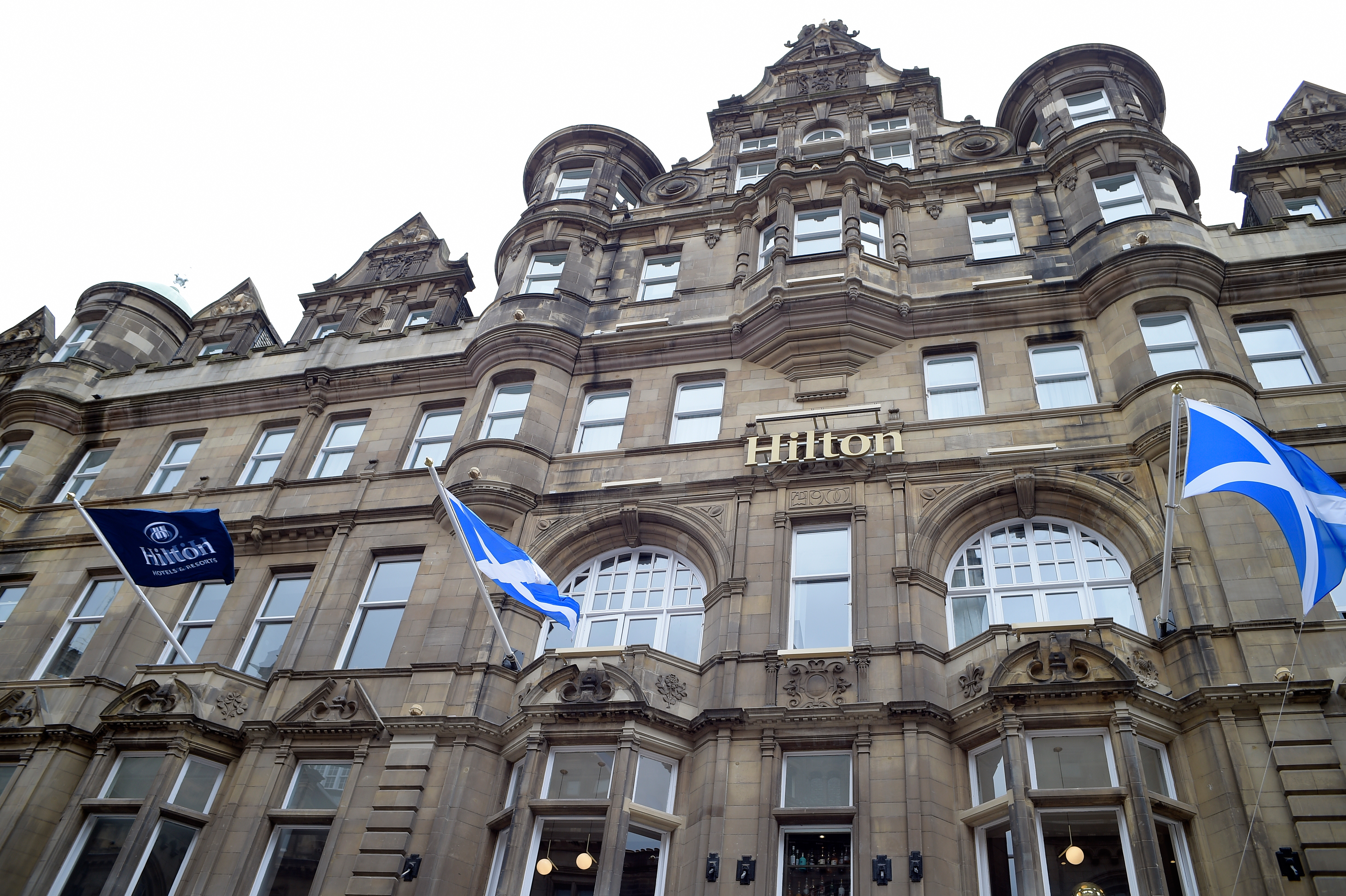 Hilton Hotels Resorts Arrives In Heart Of Scottish Capital Business Wire