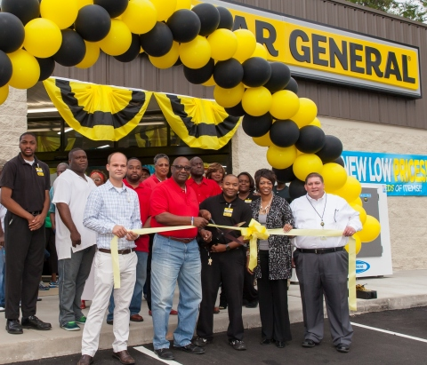 Dollar General celebrates its 13,000th store grand opening in Birmingham, Alabama on August 13, 2016 ...