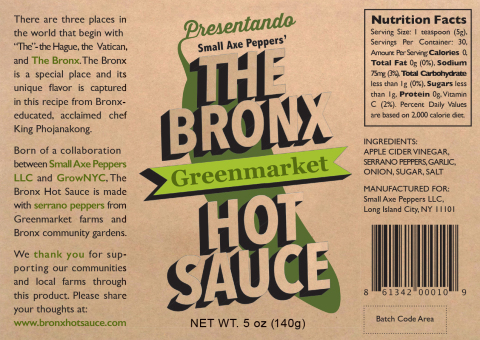 "JetBlue Spices Up Its ""BlueBud"" Business Mentoring Program With Bronx Hot Sauce - Serrano Pepper Pro ..."
