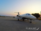 A Flexjet Embraer Legacy 450 Midsized Business Jet (Photo: Business Wire)