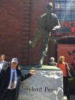 Statue unveiled at AT&T Park in honor of Hall of Famer and Diamond Resorts Ambassador Gaylord Perry. (Photo: Business Wire)