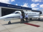 Northern Jet Management sets world speed record from Grand Rapids to Naples (Photo: Business Wire)