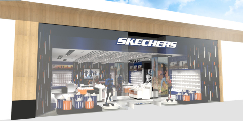 Skechers retail store rendering for One World Trade Center (Graphic: Business Wire)