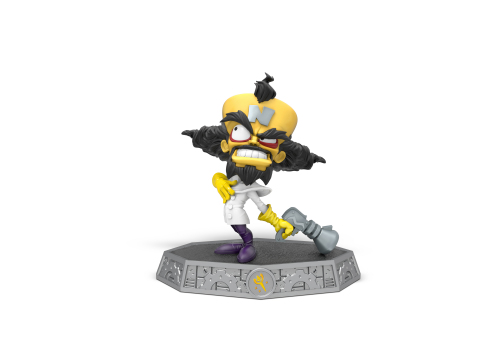Dr. Neo Cortex, Crash Bandicoot's arch-enemy, returns to videogames this October in Skylanders™ Imaginators. As a fully-playable character and toy, he's is joining the lineup of Skylanders Senseis as a guest star that's sure to add more fun to players' imagination-to-life gameplay experience. (Photo: Business Wire)