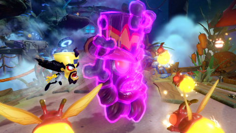 Crash Bandicoot's arch-enemy and videogame supervillain, Dr. Neo Cortex returns to fans this October as a guest star Skylander Sensei in Skylanders™ Imaginators. Dr. Neo Cortex is sure to add more fun to players' imagination-to-life gameplay experience with his unique move-set, iconic gadgets, exploding mines, lasers, and superior scowls. (Photo: Business Wire)