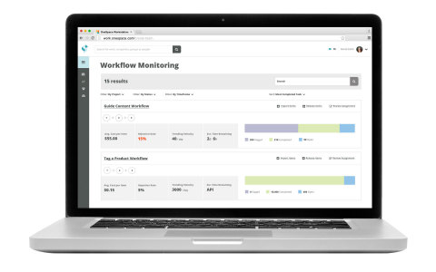 Sneak Peek: Workflow Monitoring (Photo: Business Wire)