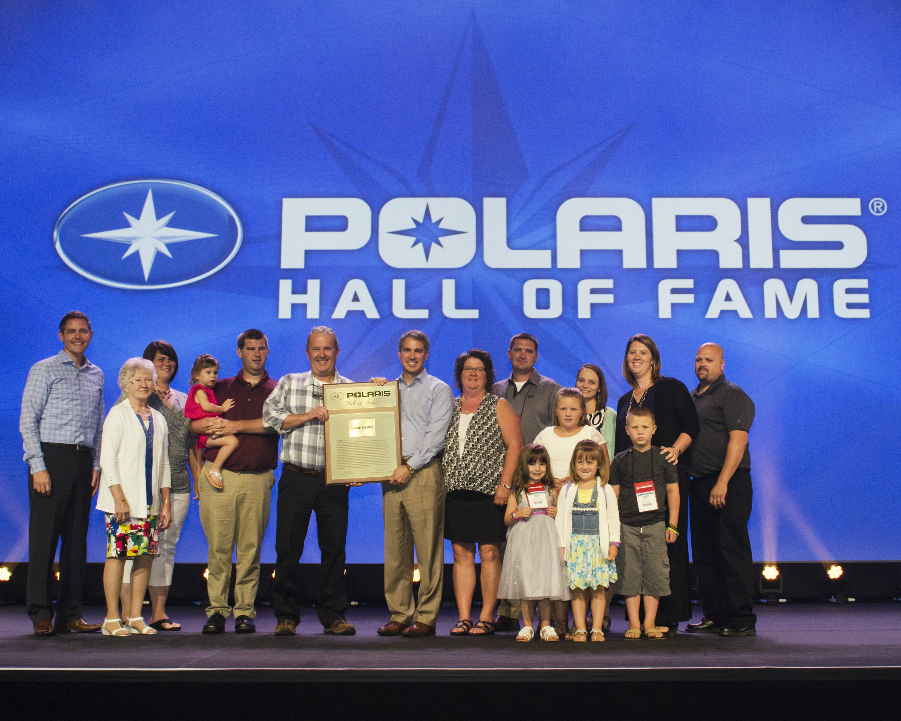 Polaris Honors Valley Atv Of Danville With Induction Into