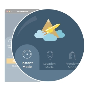 HMA! Makes Using a VPN Easy with New Interface, Custom Modes (Photo: Business Wire)