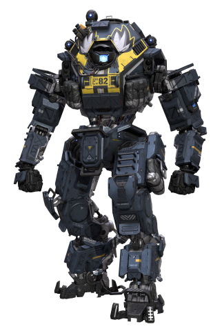 """The exclusive Buffalo Wild Wings """"Nose Art"""" insignia for Titanfall 2. (Graphic: Buffalo Wild Wings)"""