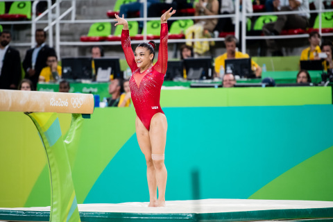 Laurie Hernandez, U.S. Olympic Gymnastics Champion, joins the P&G family as Crest® and Orgullosa ambassador. (Photo: Business Wire)