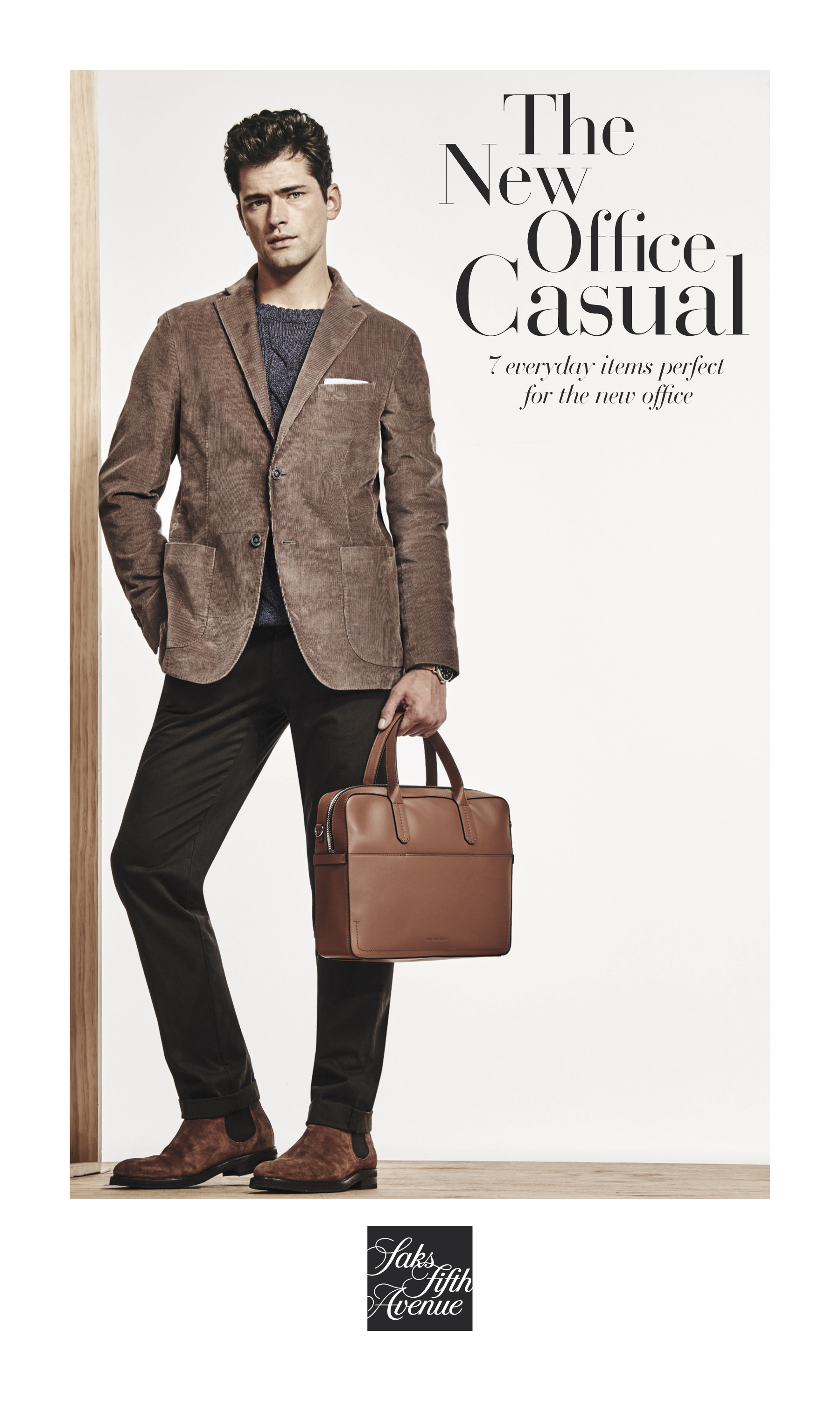 8eff9a7127 Saks Fifth Avenue Creates Menswear Manual – the Ultimate Guide to New  Office Casual
