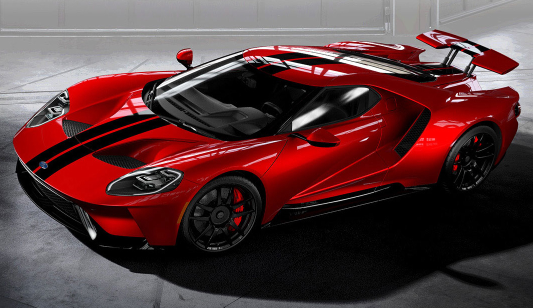Ford Performance To Extend Production Of All New Ford Gt Supercar