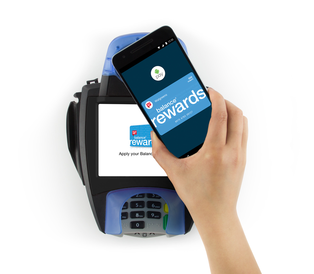 Walgreens Launches Balance Rewards Integration with Android Pay | Business Wire