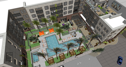The Line at Santa Ana, a LaTerra Development project. (Photo: Business Wire)