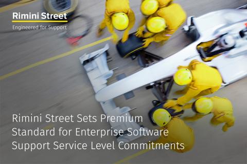 Rimini Street Once Again Sets New Premium Standard for Enterprise Software Support Service Level Com ...