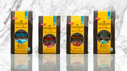 Gevalia Kaffe launches new Special Reserve line of coffees, including Guatemala, Papua New Guinea, K ...