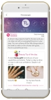 YouCam Makeup,the award-winning virtual beauty makeover app, launches daily Horoscope readings and lucky beauty tips directly to your phone. (Graphic: Business Wire)