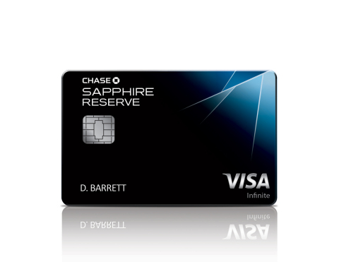 Chase Sapphire Reserve joins the suite of Chase Sapphire's premier rewards cards (Photo: Business Wire)