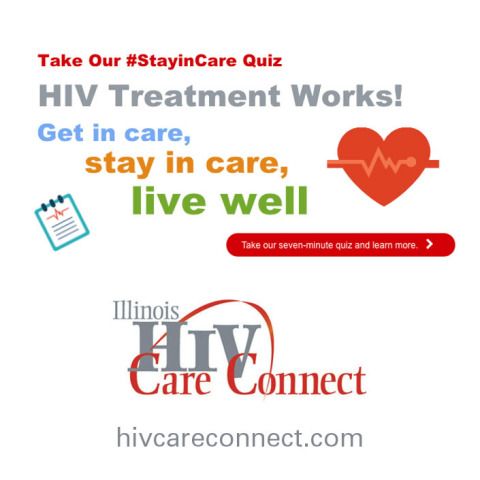 Take the HIV #StayinCare Quiz at hivcareconnect.com (Graphic: Business Wire)