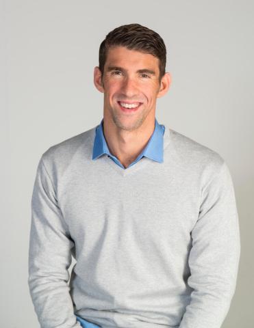 Michael Phelps, gold medalist, entrepreneur, philanthropist (Photo: Business Wire)