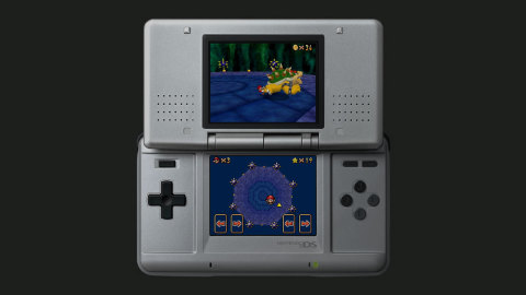 In this Nintendo DS version of the classic 3D platformer, enter all of the castle paintings to conqu ...