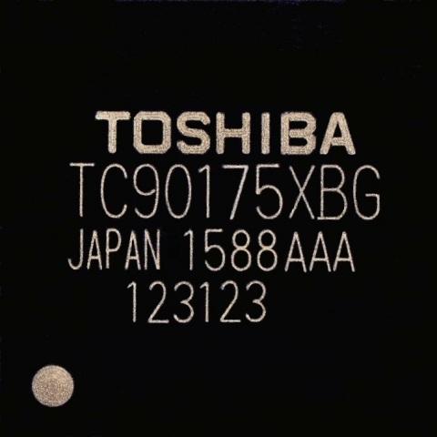 東芝:フルHDパネルへの接続を実現した車載向け映像処理IC「TC90175XBG」 (写真:ビジネスワイヤ)