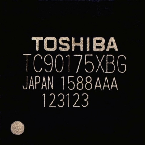 "Toshiba: A new video processor ""TC90175XBG"" that realizes display on Full HD for high resolution automotive panels. (Photo: Business Wire)"