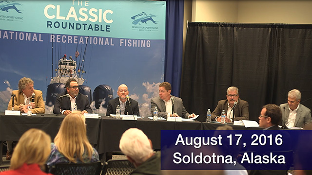 The 2016 Kenai Classic Roundtable addressed alternative fishery management solutions on August 17th in Soldotna, Alaska.