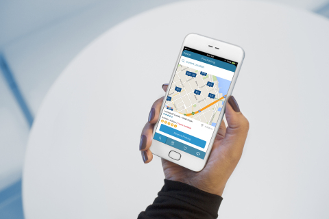 FordPass users can locate, book and pay for garage parking in more than 160 cities across the United States – all without ever leaving FordPass – saving time and avoiding the hassle of hunting for a place to park. (Photo: Business Wire)