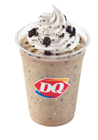 The Ultimate Oreo Frappé is a combination of coffee, ice and Oreo cookie pieces blended with creamy DQ signature vanilla soft serve and crowned with whipped topping and Oreo cookie pieces to create the perfect treat and afternoon pick-me-up. (Photo: Business Wire)
