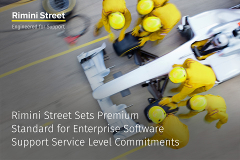 Rimini Street Once Again Sets New Premium Standard for Enterprise Software Support Service Level Commitments (Photo: Business Wire)
