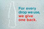Coca-Cola è la prima società annoverata tra le Fortune 500 a ricostituire tutte l'acqua che consuma a livello globale