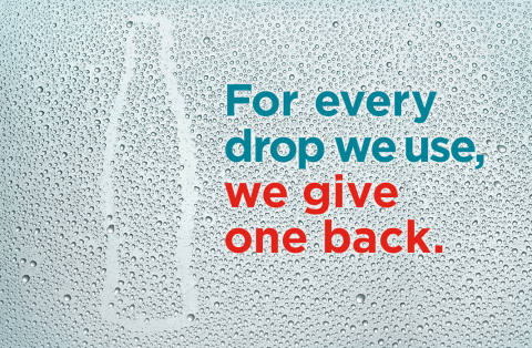 Working with its bottling partners and organizations across government, civil society and the private sector, Coca-Cola has exceeded its goal of giving back to communities and nature the equivalent of all the water they use in their beverages and production. (Photo: Business Wire)