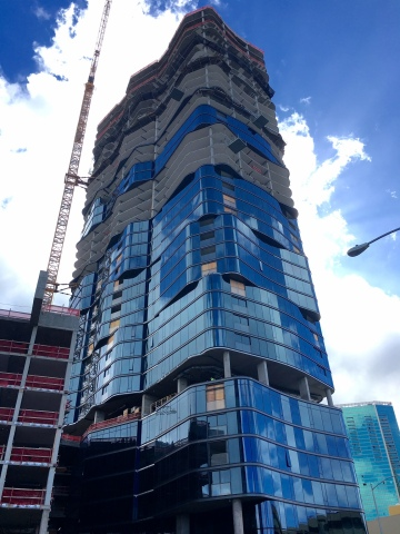 Anaha building at Ward Village under construction in Honolulu by The Howard Hughes Corporation (Photo: Business Wire)
