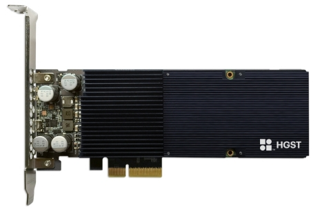 Western Digital Corporation HGST-branded Ultrastar SN150 PCIe NVMe SSD for VMware platforms (Photo: Business Wire)