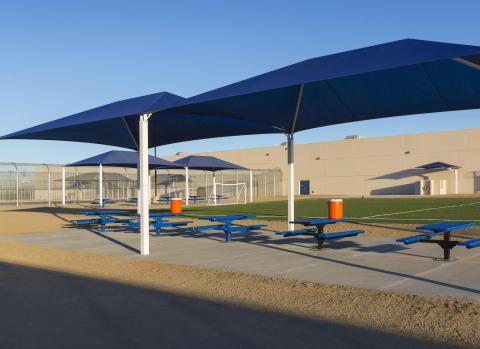GEO's Adelanto Center in California (Photo: Business Wire)