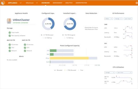 NexentaFusion 1.0, simplified storage management and analytics and NexentaStor 5.0, the Nexenta's fl ...