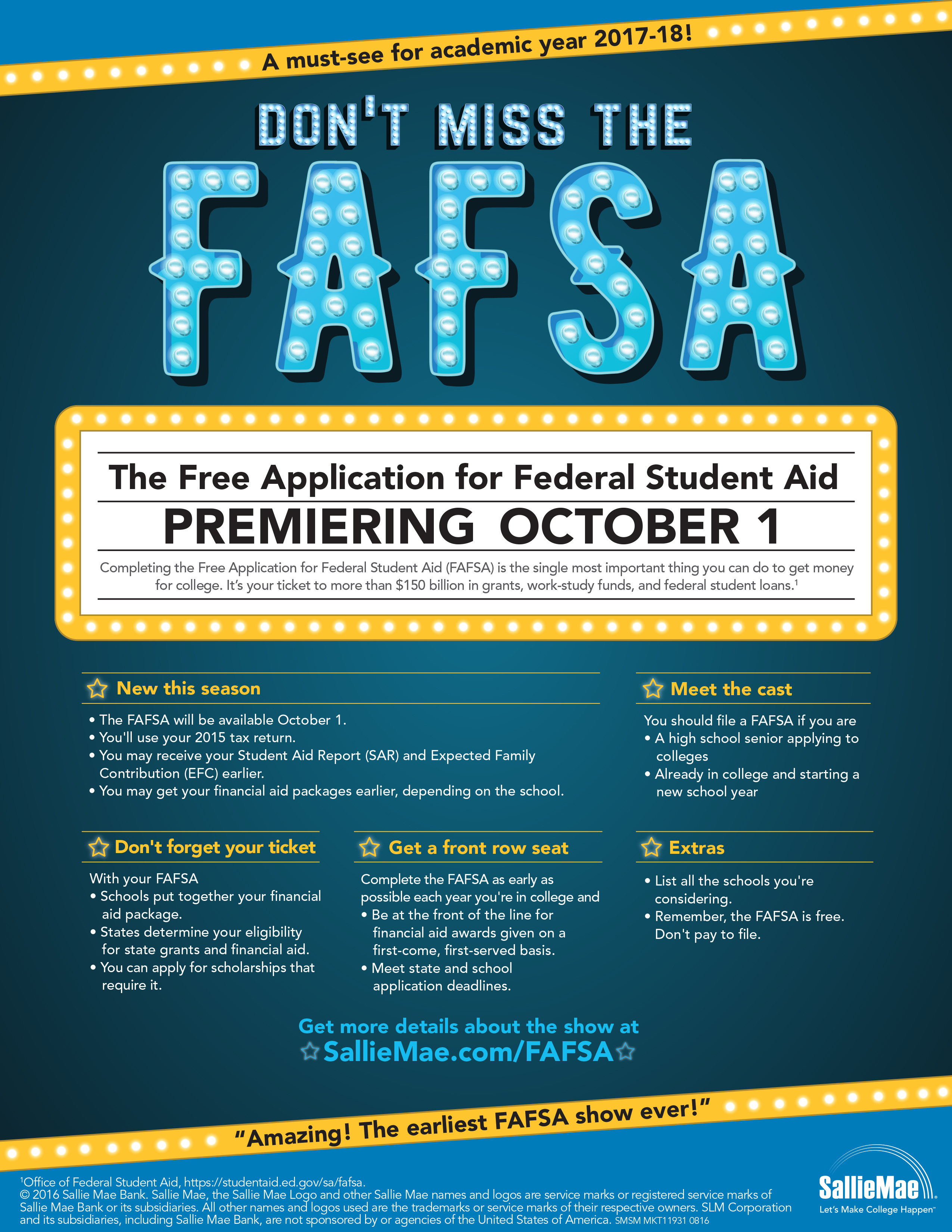 mark the calendar applying for college financial aid now begins full size