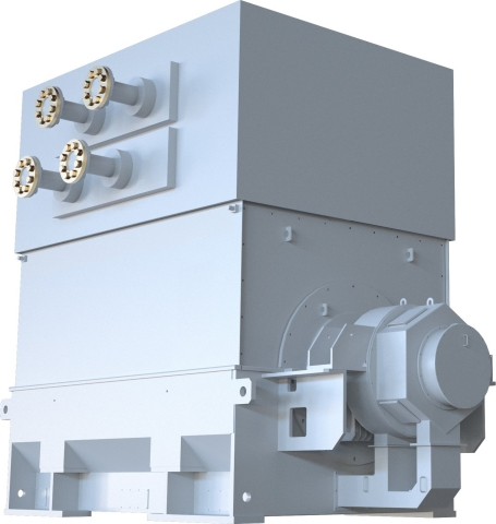 Salient 4-Pole Turbine Generator (Photo: Business Wire)