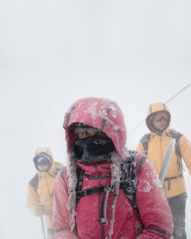 Columbia's Directors of Toughness on Mt. Hood in Oregon (Photo: Business Wire)