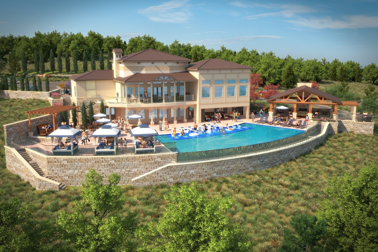 Tacara Steiner Ranch Now Pre Leasing Its Luxury Apartment Homes Overlooking Lake Travis Business Wire