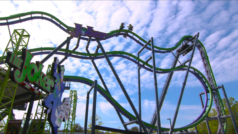 After being lifted straight up a 12-story, 90-degree hill, the free-fly coaster will wreak havoc as riders flip head-over-heels at least six times along the weightless journey. (Photo: Business Wire)