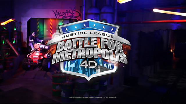 Six Flags Great Adventure will debut JUSTICE LEAGUE: Battle for Metropolis, an interactive, family thrill ride and competitive gaming experience, in spring 2017.