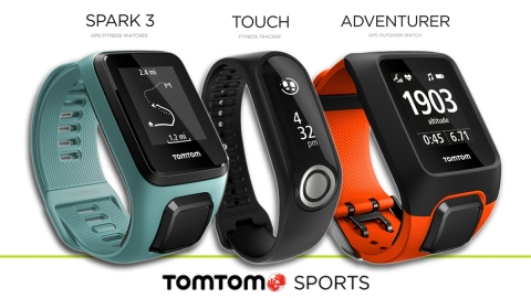 TomTom Deepens Fitness Commitment with New Line of Wearable Devices (Photo: Business Wire)