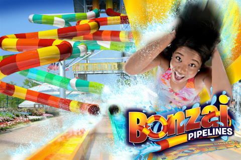 Bonzai Pipelines coming to The Great Escape & Splashwater Kingdom in Lake George, NY. (Photo: Business Wire)